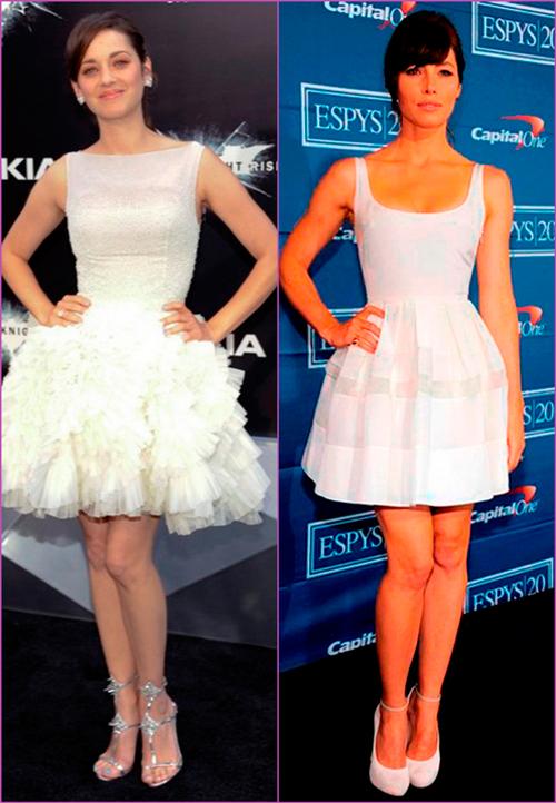 white looks - white night dresses