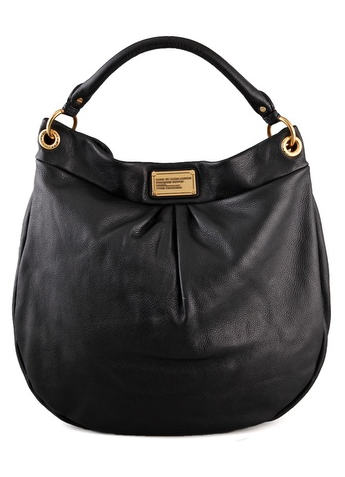 Marc by Marc Jacobs black Classic Q Huge  Hillier Hobo