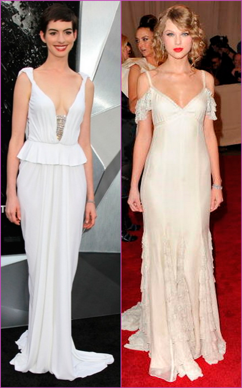 white looks - long white dresses