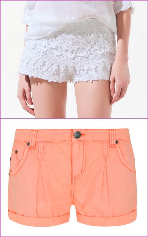 """""""crochet short"""" """"coral short"""""""