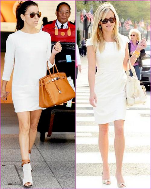 white looks - white dresses