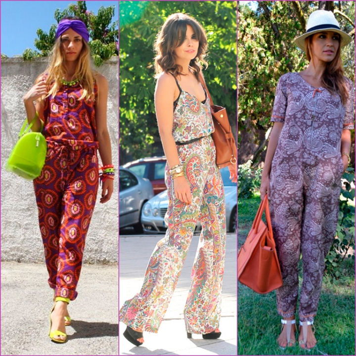 printed jumpsuits