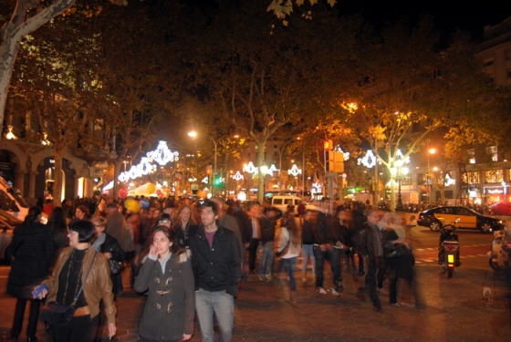 The Shopping Night Barcelona 2012