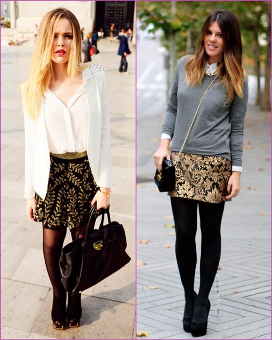 brocade skirts