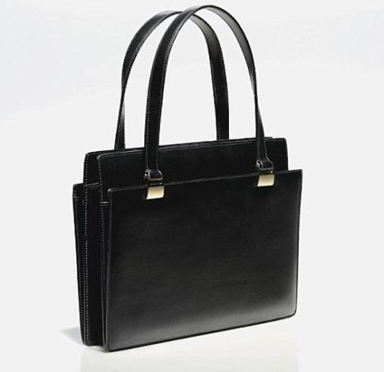 Margaret Thatchers famous black Asprey bag