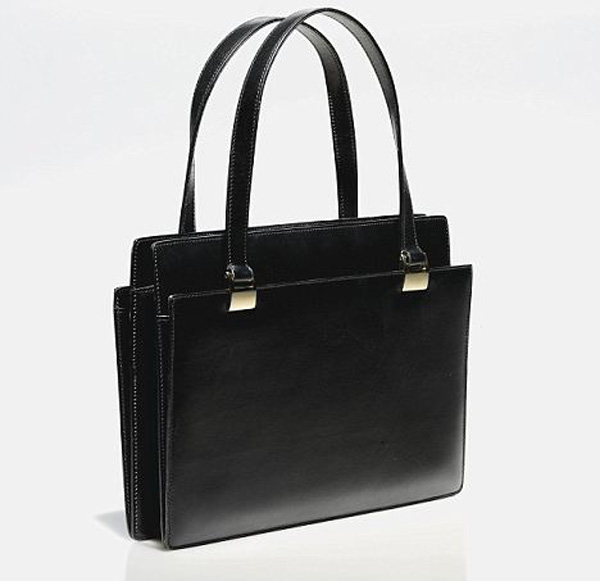 Margaret Thatchers famous black Asprey bag