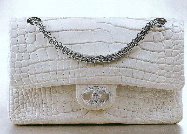 The Chanel Diamond Forever Classic Handbag