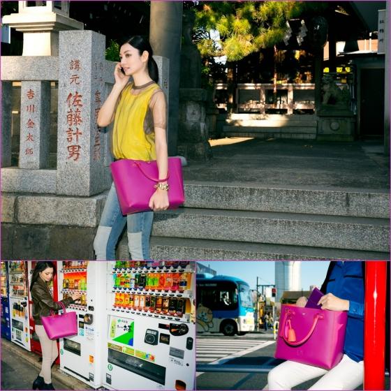 DAY 3: Yayoi- loewe - leo bag-magenta