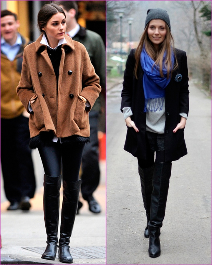 Olivia Palermo - high boots - givenchy boots