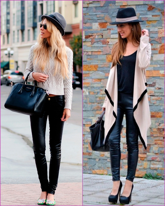 leather pant - pantalon cuero
