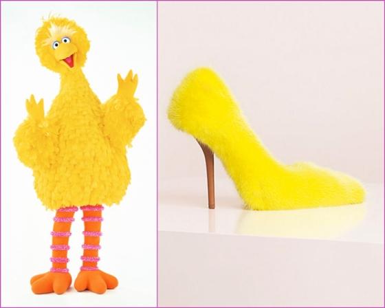 Bird - Céline Angular Fur Skinny