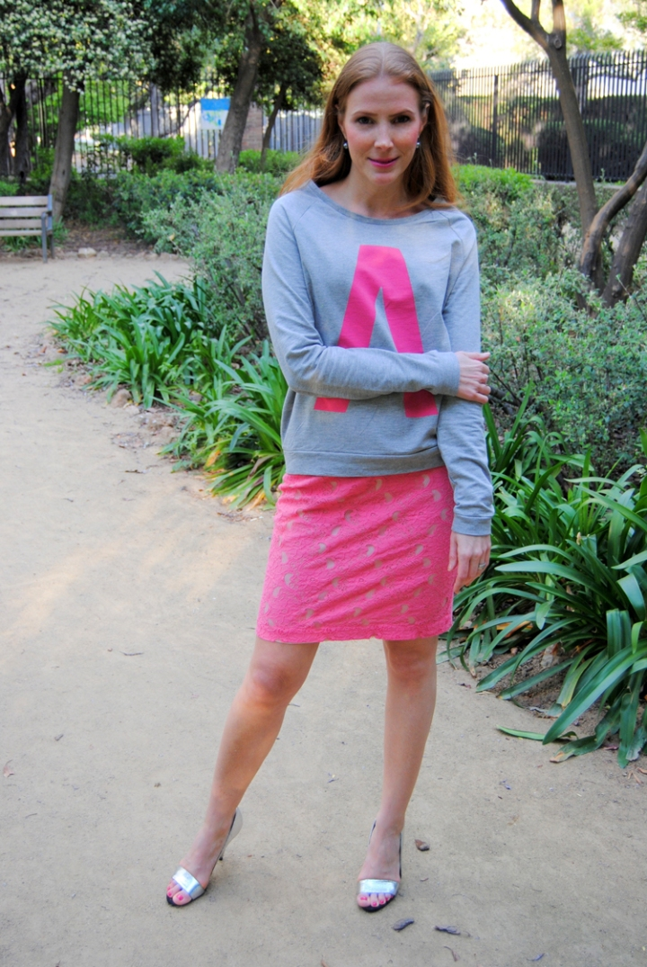 Jumper and skirt