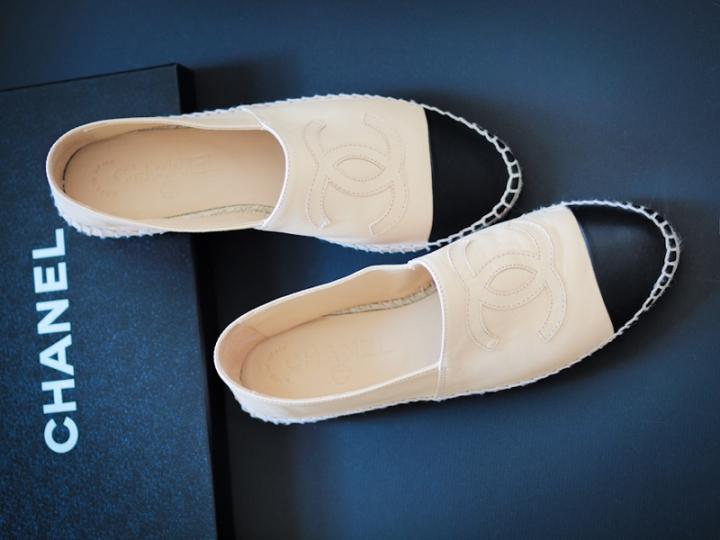 Chanel espadrilles leather