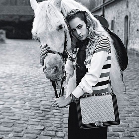 Allice Dellal Boy Chanel