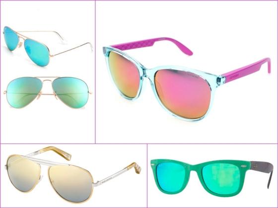 Mirror sunnies - Gafas Vidrio