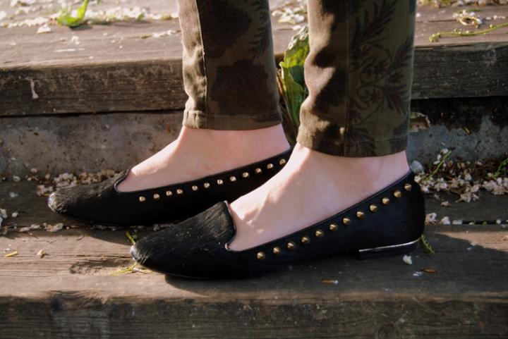 Spiker loafers