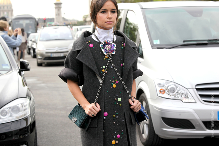 Miroslava Duma Boy Chanel bag