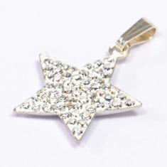 gante corazón con cristal Swarovski estrella