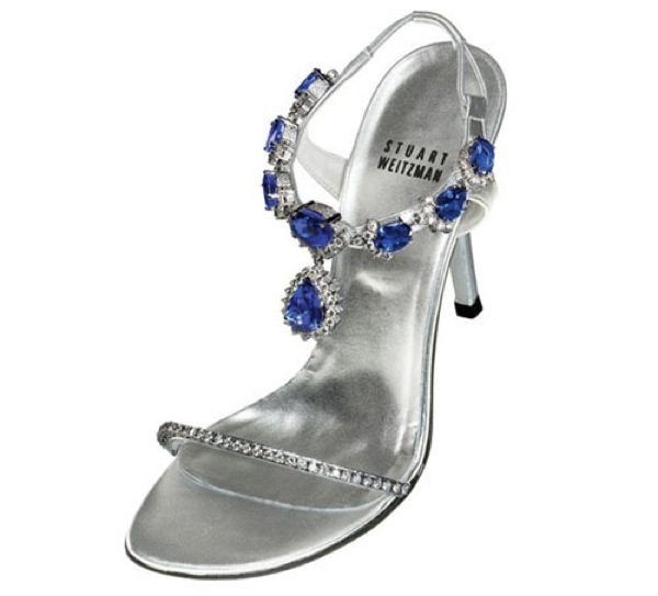 Tanzanite sandals