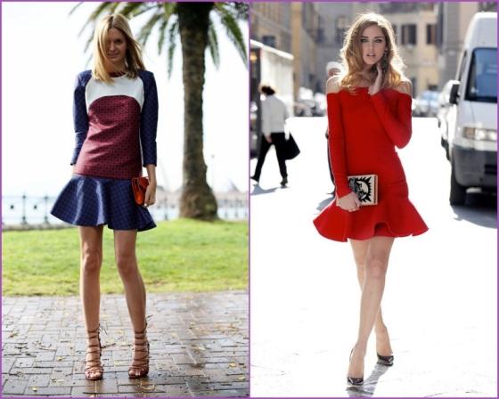 Frills dresses
