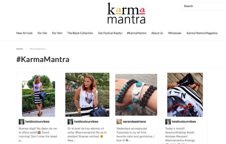 Web Karma Mantra
