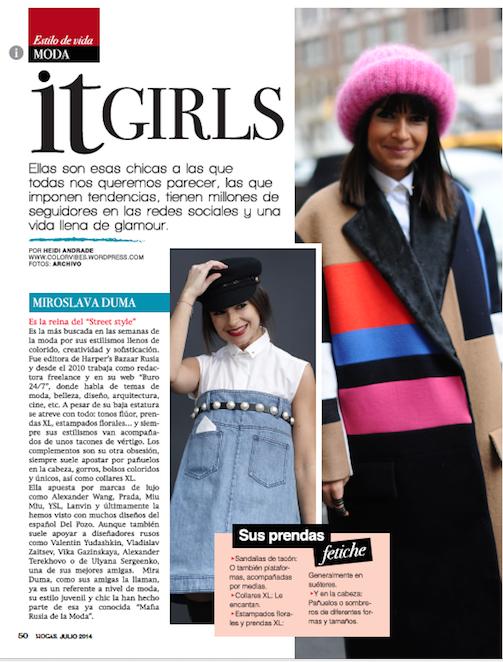 Mira Duma - Revista Hogar