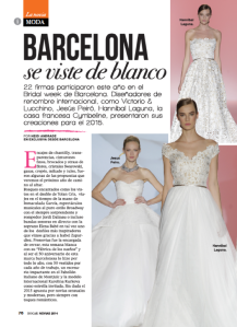 Bridal Week Barcelona - Revista Hogar