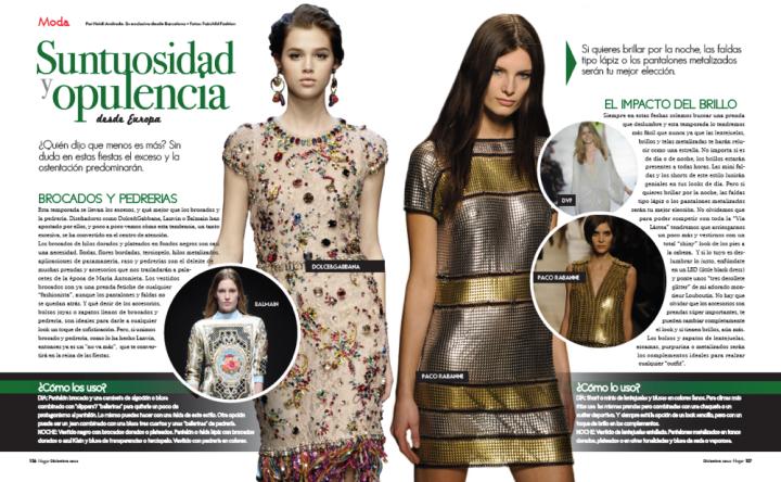 Revista Hogar Diciembre 2012