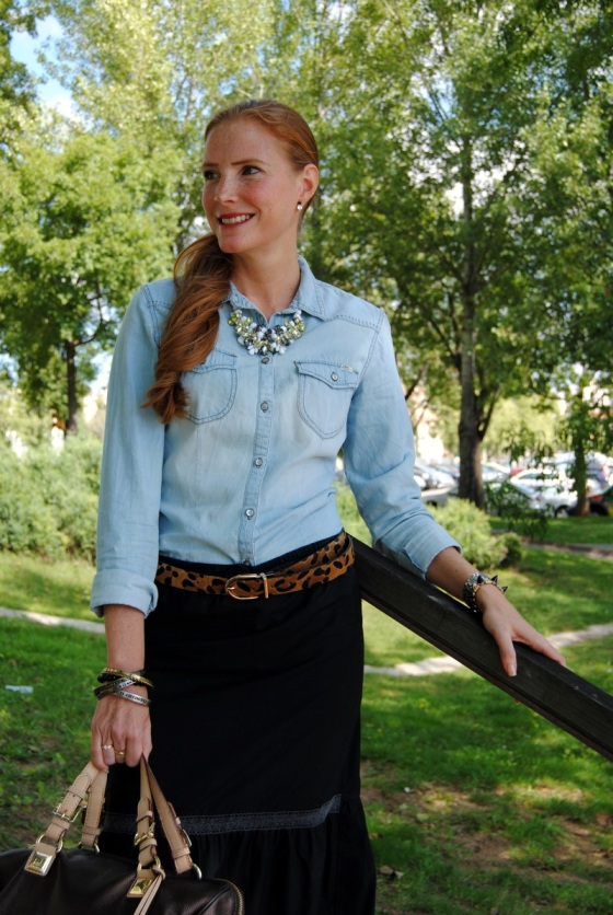leopard print belt