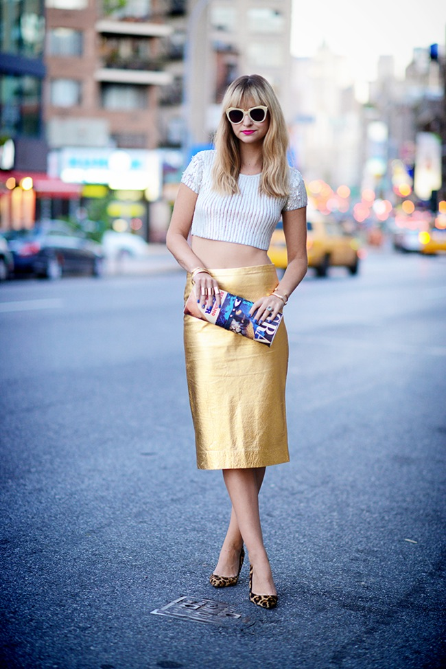 golds pencil skirt