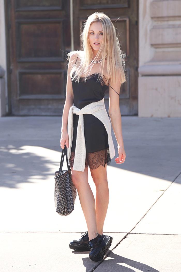 Peace love She - lingerie dress