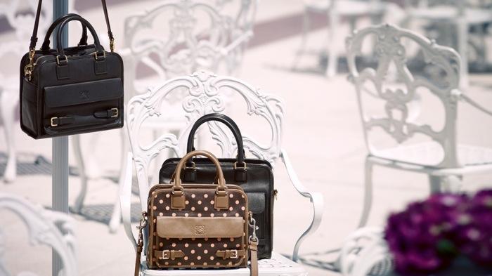 Loewe Cruz bag campaign