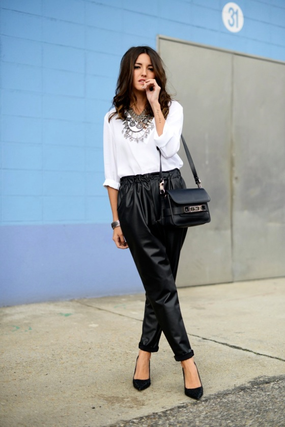 Lovely Pepa - leather pants