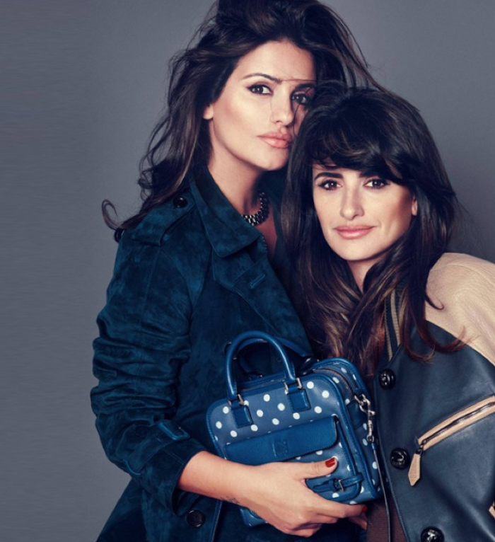 Monica and Penelope Cruz for Loewe