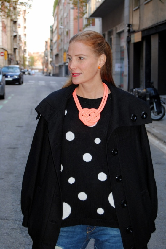 Mango Polka dots sweater