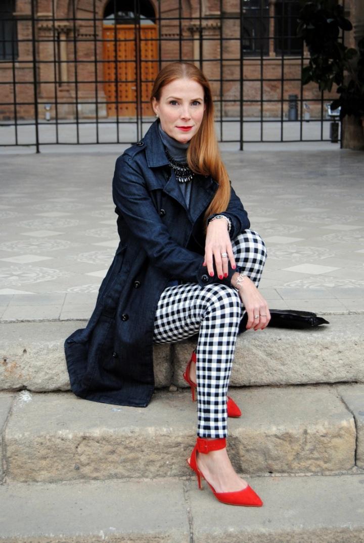 red heels look
