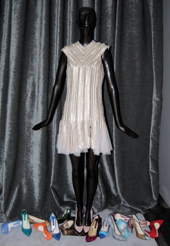 Vestido Teresa Helbig - Zapatos Serena Whitehaven