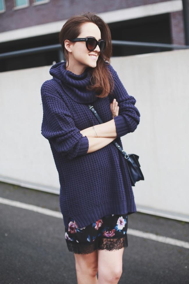 Vestido floral lencero