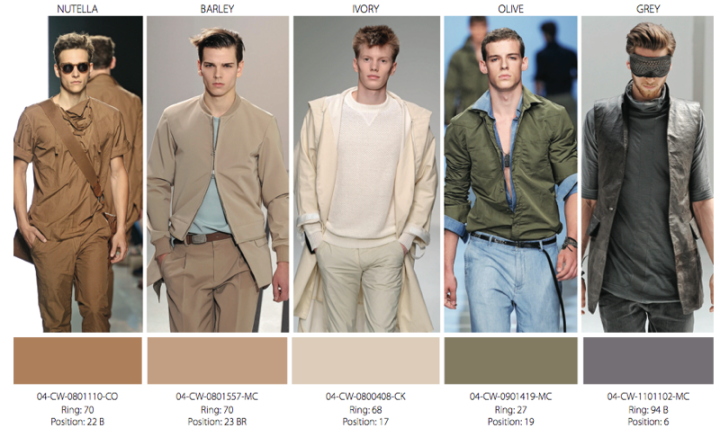 trends colors men 2014