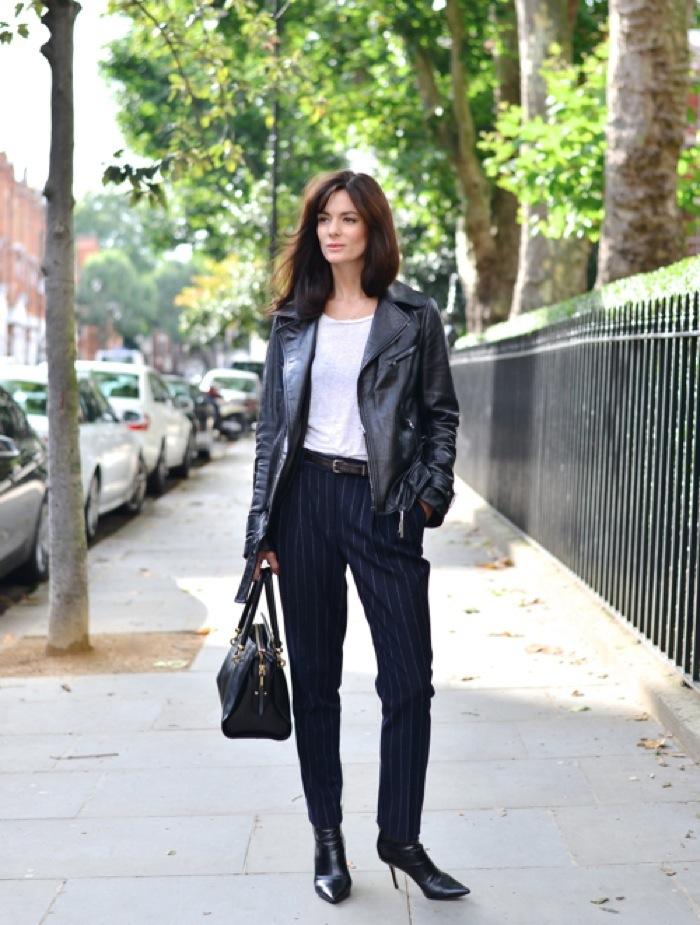 pinstripe pants