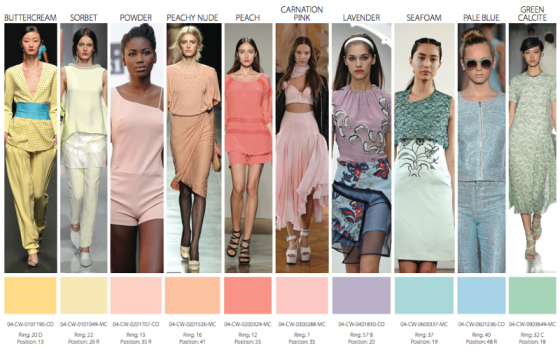 trends colors woman 2014