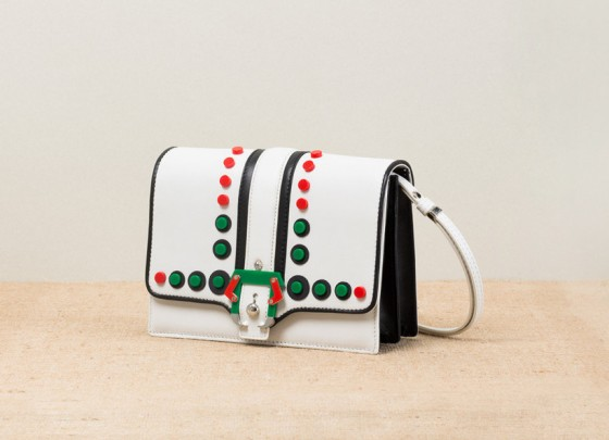 11-Paula-Cademartori_Spring-Summer-2014_Tatiana_Shoulder-Bag_studs-white-nappa-