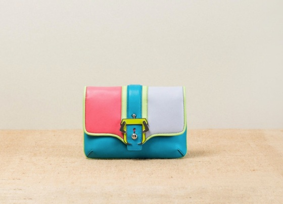 Paula-Cademartori_Spring-Summer-2014_Petite-Sylvie_Small-Clutch-Bag_bright-blue_color-blocking