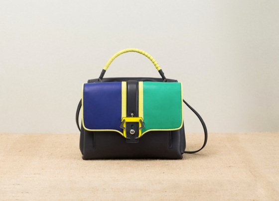 Paula-Cademartori_Spring-Summer-2014_Petite-Faye_Small-Shopping-Bag_black_color-blocking