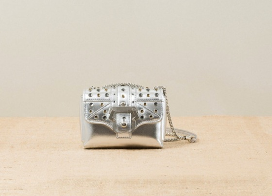 Paula-Cademartori_Spring-Summer-2014_Kate_Small-Shoulder-Bag_silver-leather_crystals