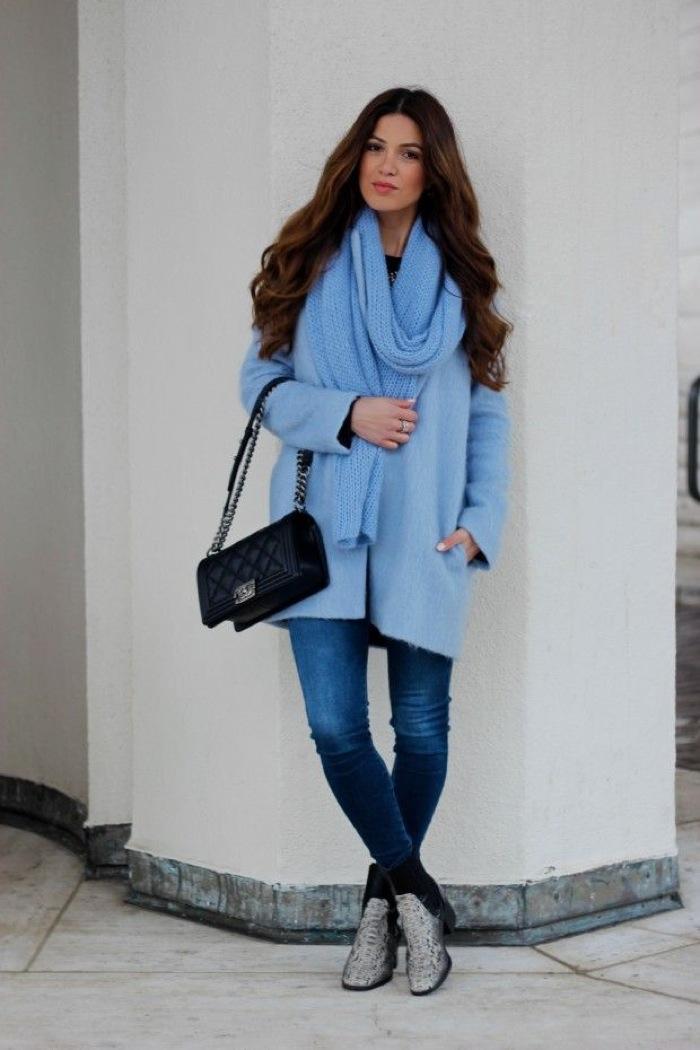 baby blue coat
