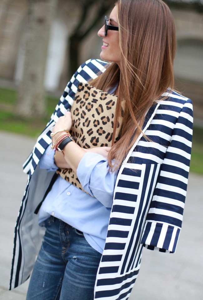 Stripes and leopard touch