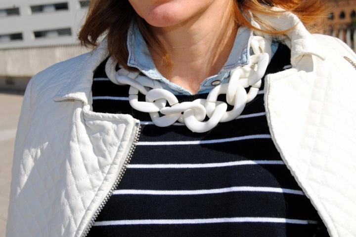 Mango white necklace