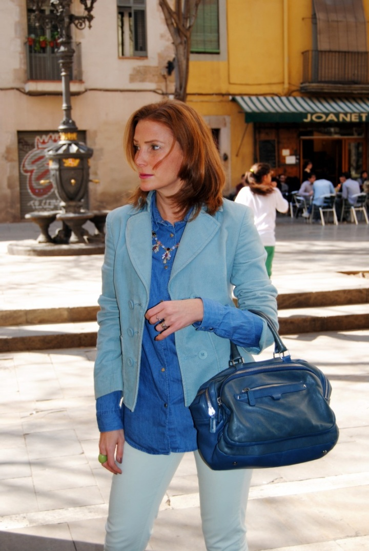Mango Blue Jacket