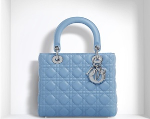 baby blue lady dior bag